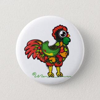 Badge Rond 5 Cm Bouton portugais de coq