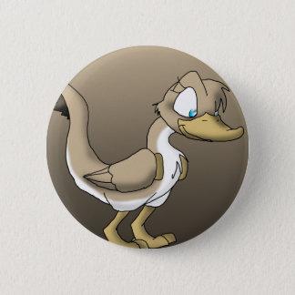 Badge Rond 5 Cm Bouton reptile femelle de canard