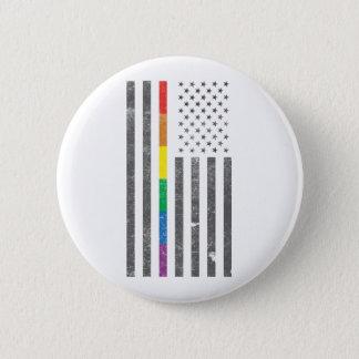 Badge Rond 5 Cm Bouton rond de drapeau américain de fierté