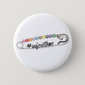 Badge Rond 5 Cm Bouton rond de #SafeWithMe
