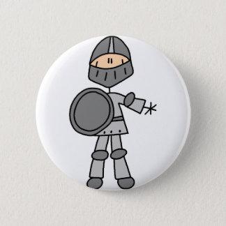 Badge Rond 5 Cm Bouton royal de chevalier