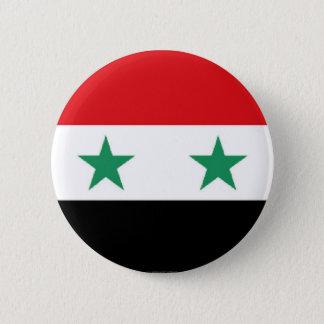 Badge Rond 5 Cm Bouton syrien de drapeau