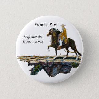 Badge Rond 5 Cm Bouton, traînée de montagne péruvienne
