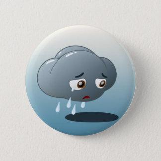Badge Rond 5 Cm Bouton triste