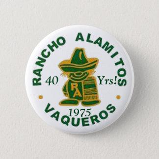 Badge Rond 5 Cm Boutons 1975 de la Réunion de Rancho Alamitos