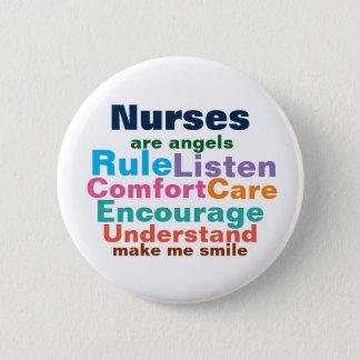 Badge Rond 5 Cm Boutons de cadeau d'infirmière