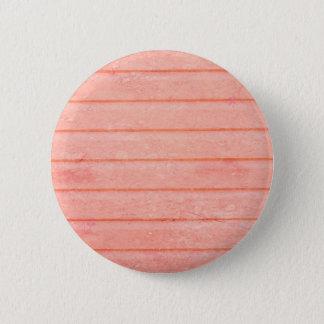 Badge Rond 5 Cm Boutons en bois roses rustiques