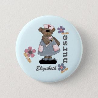 Badge Rond 5 Cm Boutons faits sur commande d'infirmière de