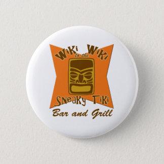 Badge Rond 5 Cm Boutons sournois de bar et grill de Tiki