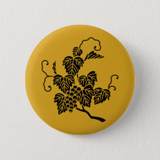 Badge Rond 5 Cm Branche de raisin