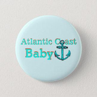 Badge Rond 5 Cm Breton atlantique de cap de la Nouvelle-Écosse PEI