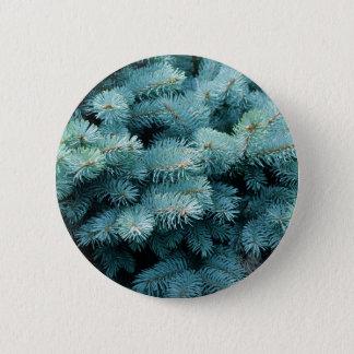 Badge Rond 5 Cm Bush bleu