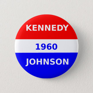 Badge Rond 5 Cm button_Kennedy_And_Johnson_1960