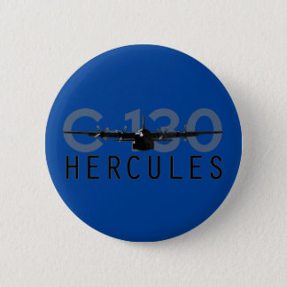 Badge Rond 5 Cm C-130 Hercule