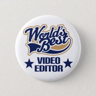 Badge Rond 5 Cm Cadeau de table de montage (mondes meilleurs)