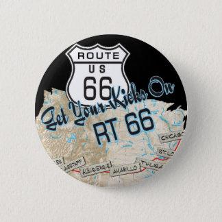 Badge Rond 5 Cm cadeaux de l'itinéraire 66