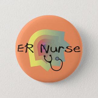 Badge Rond 5 Cm Cadeaux d'infirmière d'ER