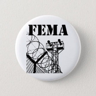 Badge Rond 5 Cm Camps de FEMA
