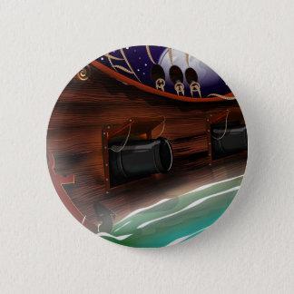 Badge Rond 5 Cm Canon de bateaux
