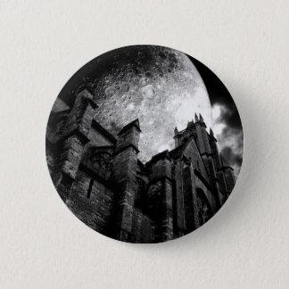 Badge Rond 5 Cm Cathédrale de pleine lune