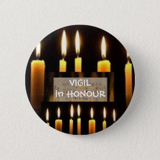 Badge Rond 5 Cm Celeberation de l'amour et de la lumière