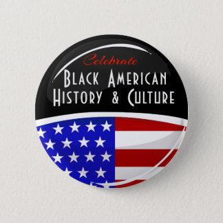 Badge Rond 5 Cm Célébrez l'emblème brillant d'histoire américaine