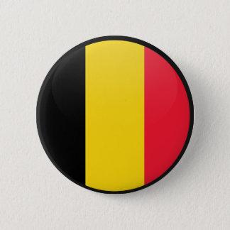 Badge Rond 5 Cm Cercle de drapeau de qualité de la Belgique