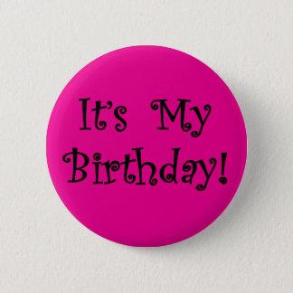 Badge Rond 5 Cm C'est mon anniversaire