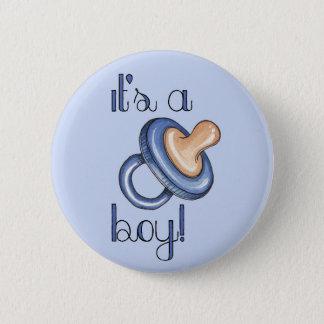 Badge Rond 5 Cm C'est un garçon !