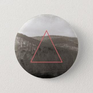 Badge Rond 5 Cm Chaîne de montagne