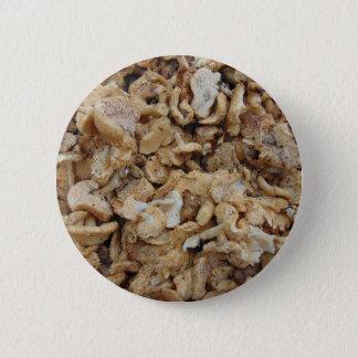 Badge Rond 5 Cm Champignons de hérisson