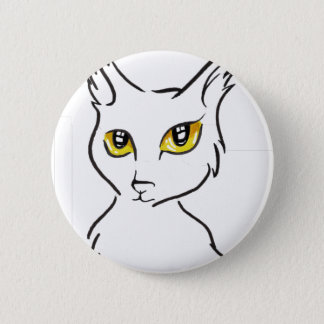 Badge Rond 5 Cm Chat