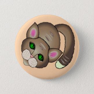 Badge Rond 5 Cm chat mignon