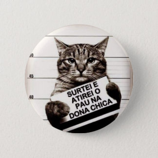 Badge Rond 5 Cm Chat revolts