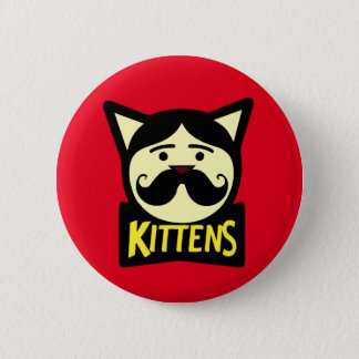 Badge Rond 5 Cm Chatons