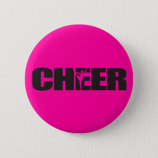 Badge Rond 5 Cm Cheerleading du Chef d'acclamation d'acclamation