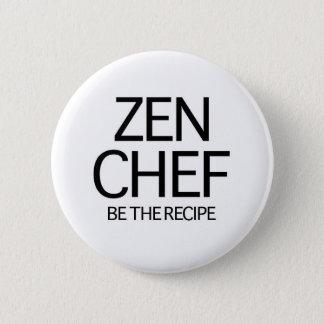 Badge Rond 5 Cm Chef de zen