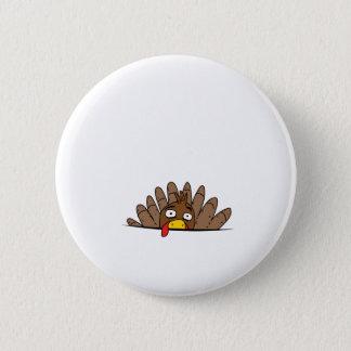 Badge Rond 5 Cm Chemise de maternité de thanksgiving de la Turquie