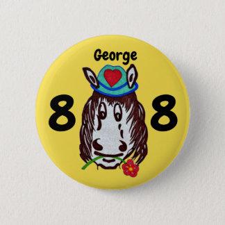 Badge Rond 5 Cm Cheval de Henry pour l'insigne de bouton d'enfants