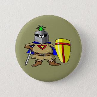 Badge Rond 5 Cm Chevalier