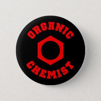 Badge Rond 5 Cm Chimiste organique