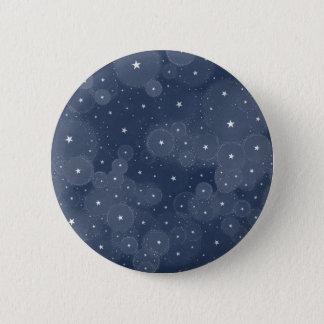 Badge Rond 5 Cm Ciel étoilé