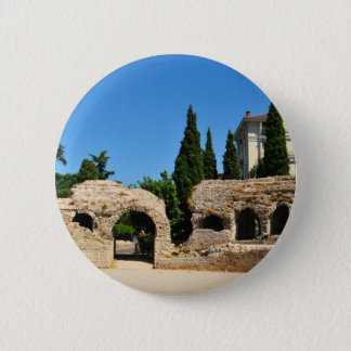 Badge Rond 5 Cm Cimiez Nice, France