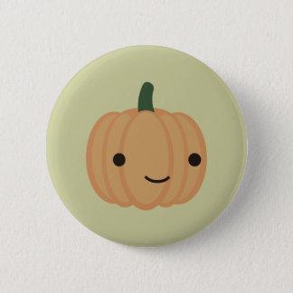 Badge Rond 5 Cm Citrouille adorable