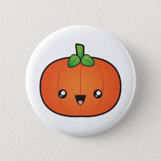 Badge Rond 5 Cm Citrouille mignon de Halloween