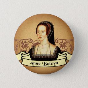 Badge Rond 5 Cm Classique d'Anne Boleyn
