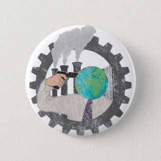Badge Rond 5 Cm Climate changements