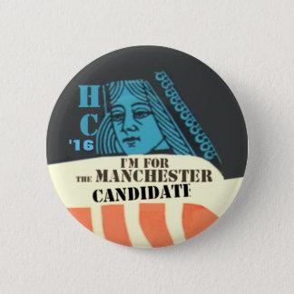 Badge Rond 5 Cm Clinton le bouton de Manchester