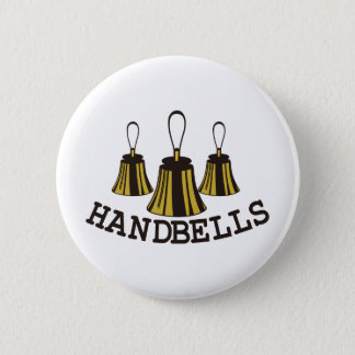 Badge Rond 5 Cm Clochettes