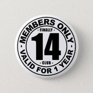 Badge Rond 5 Cm Club enfin 14